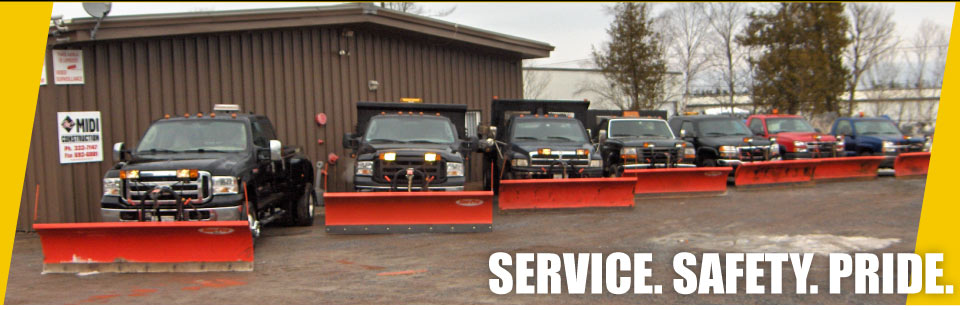 Services, Safety, Pride - plows